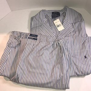 NWT Ralph Lauren Polo Men's Pajama Set size L